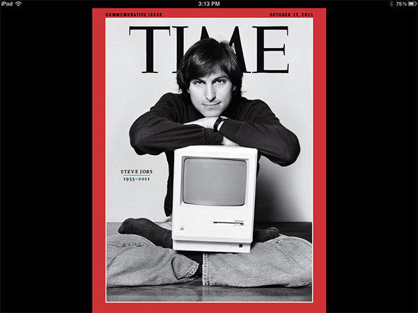 iPad Gems: Steve Jobs Editions Of Bloomberg Businessweek+, Fortune, Time + Wired 11