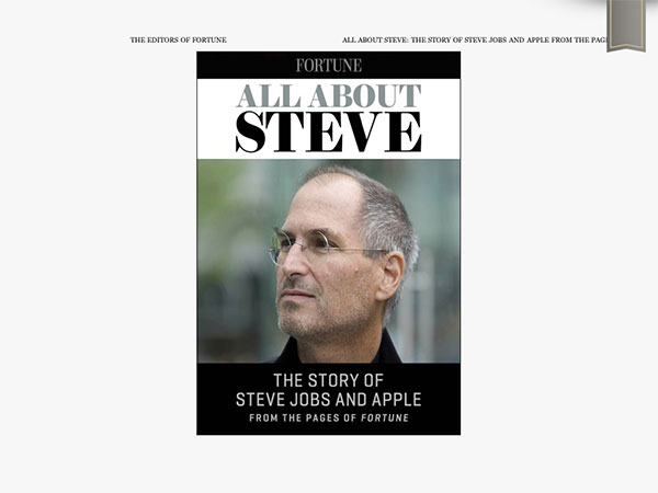 iPad Gems: Steve Jobs Editions Of Bloomberg Businessweek+, Fortune, Time + Wired 7