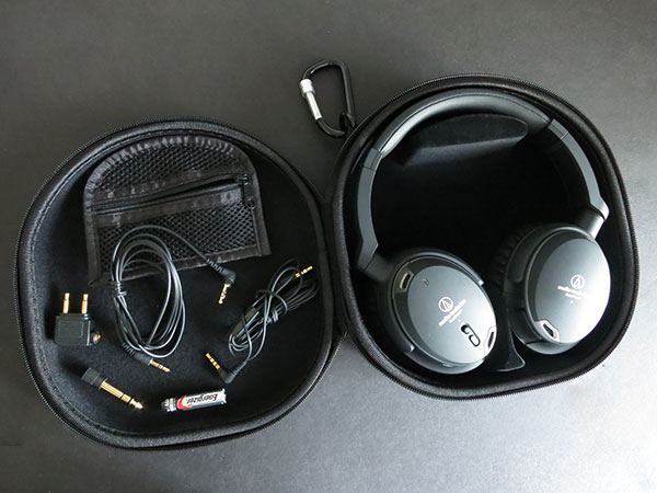 Audio Technica ATH ANC9 QuietPoint Noise Cancelling Headphones
