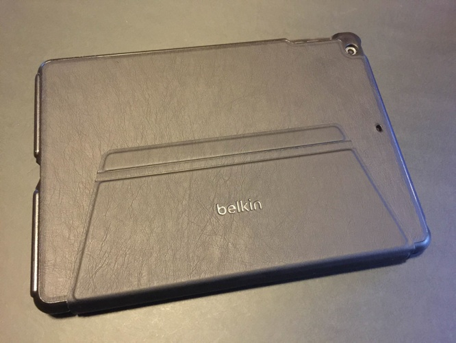 Review: Belkin Qode Ultimate Pro Keyboard Case for iPad Air