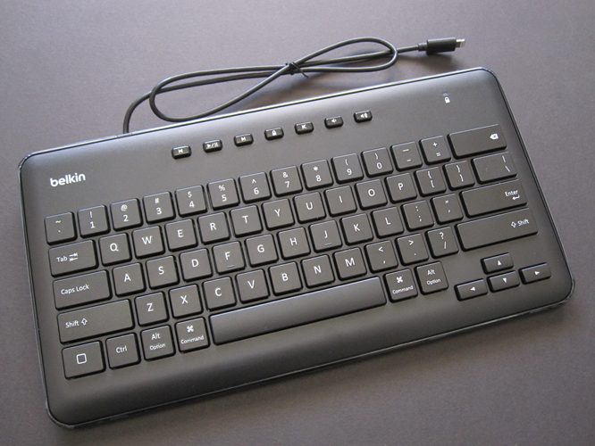 Review: Belkin Secure Wired Keyboard for iPad with Lightning Connector