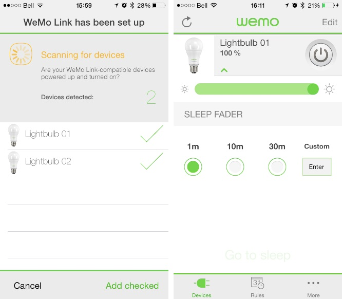 Review: Belkin WeMo LED Lighting Starter Set