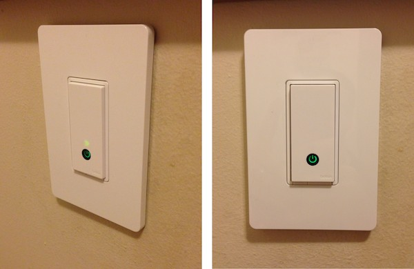 Review: Belkin WeMo Light Switch | iLounge:Once connected to a power source, the WeMo Light Switch is set up in much  the same way as the other WeMo outlet-based modules.,Lighting