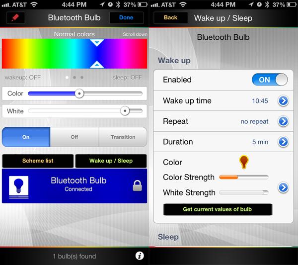 Review: BlueBulb Bluetooth Bulb 9W RGB + White