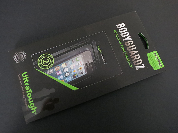 First Look: BodyGuardz Armor Carbon Fiber + UltraTough Clear Skins for iPhone 5