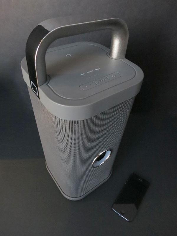 Review: Brookstone Big Blue Party Indoor-Outdoor Bluetooth Wireless Speaker 1