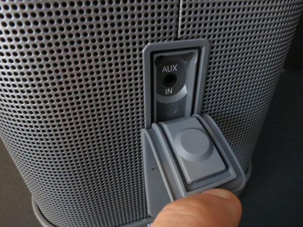 Review: Brookstone Big Blue Party Indoor-Outdoor Bluetooth Wireless Speaker 5