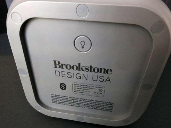 Review: Brookstone Big Blue Party Indoor-Outdoor Bluetooth Wireless Speaker 7
