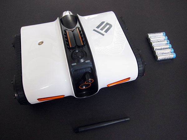 Review: Brookstone Rover App-Controlled Wireless Spy Tank