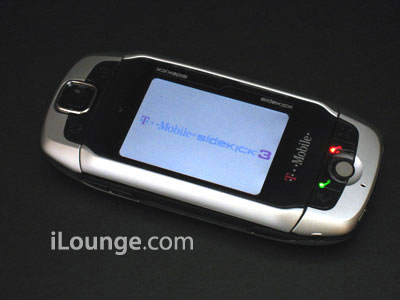 T-Mobile Sidekick 3: Photo Comparisons