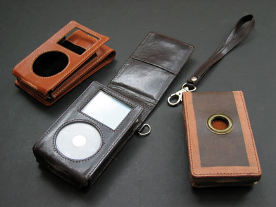 Review: DLO Relaxed Leather Cases for 4G iPod