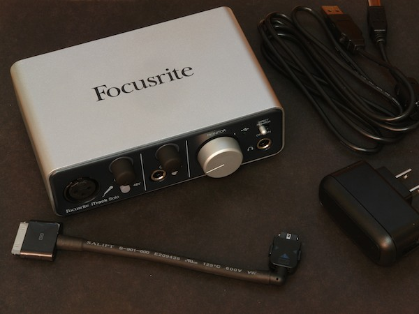 Review: Focusrite iTrack Solo 1