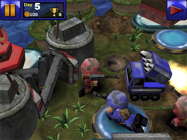 iPhone + iPad Gems: Great Little War Game, Rainbow Six Shadow Vanguard, Ring Blade + Tiger Woods 12