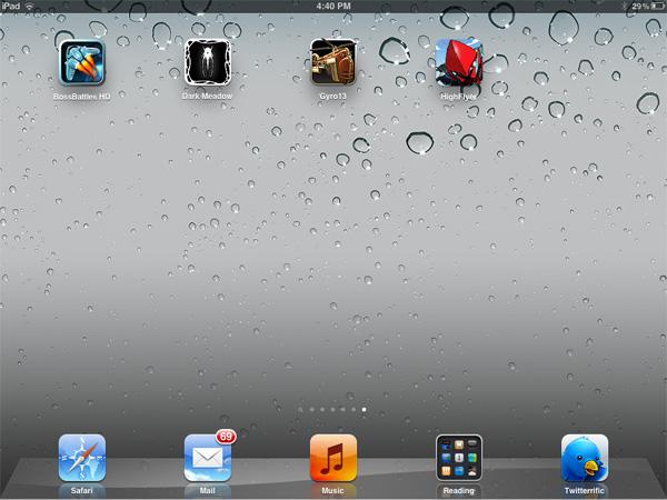 iPhone + iPad Gems: Boss Battles, Dark Meadow, Gyro13 + High Flyer Death Defyer 1