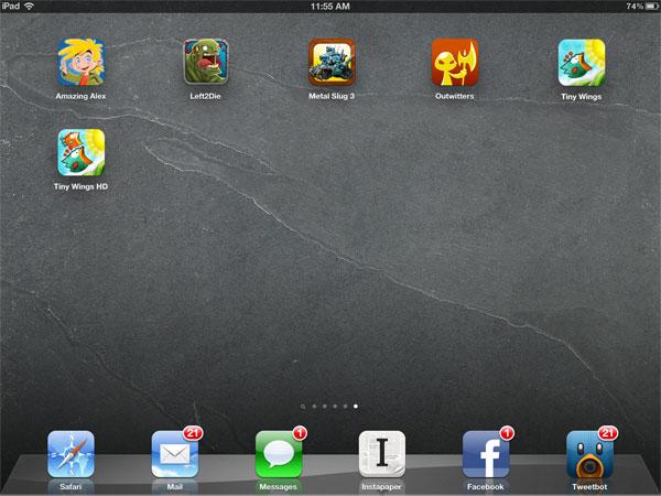 iOS Gems: Amazing Alex, Left2Die, Metal Slug 3, Outwitters + Tiny Wings/HD 1