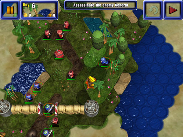 iOS Gems: Great Big War Game, The Act + The Dark Knight Rises 3