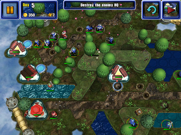iOS Gems: Great Big War Game, The Act + The Dark Knight Rises 6
