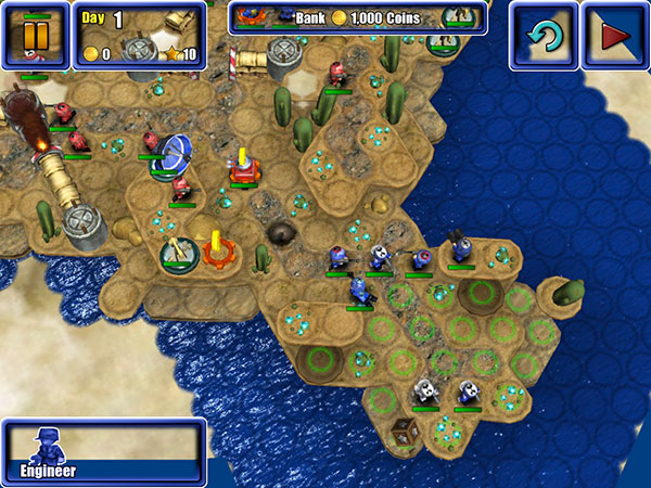 iOS Gems: Great Big War Game, The Act + The Dark Knight Rises 7