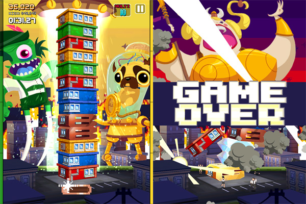 iPhone + iPad Gems: Bop It! for iPad, Monsters Ate My Condo + Serious Sam: Kamikaze Attack! 9
