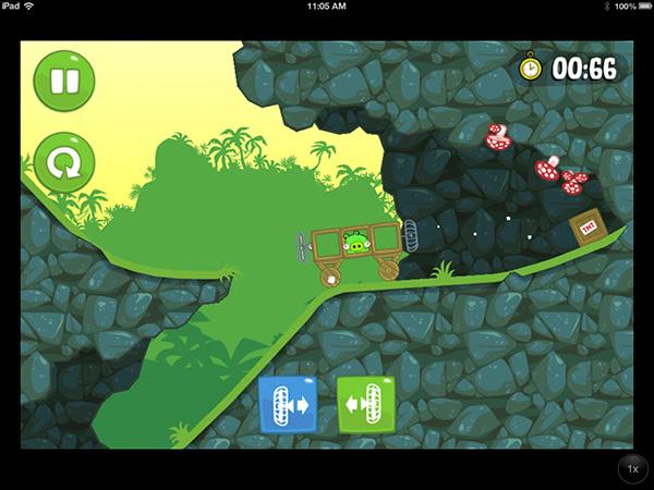 iOS Gems: Bad Piggies, FIFA 13, Rayman Jungle Run, Street Fighter x Tekken Mobile + The Room 6