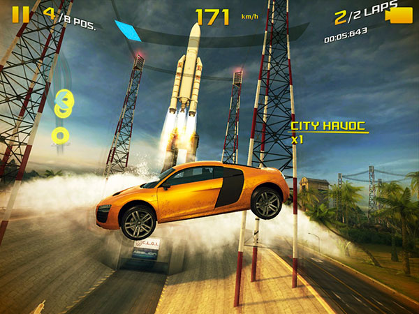 Review: Gameloft Asphalt 8: Airborne