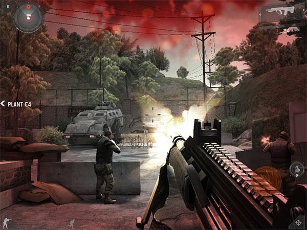Review: Gameloft Modern Combat 3: Fallen Nation
