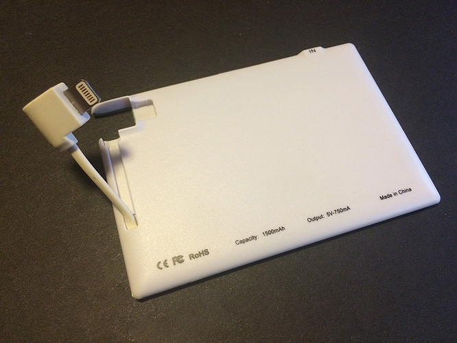 Review: Go Design TravelCard Charger 7
