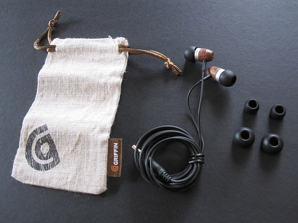Preview: Griffin WoodTones Earbuds