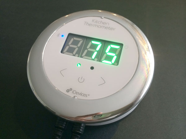 Review: iDevices Kitchen Thermometer   iLounge