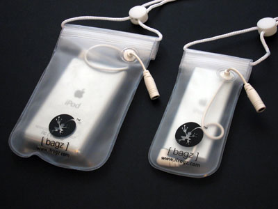Review: ifrogz bagz Water Resistant Cases for iPod and iPod nano