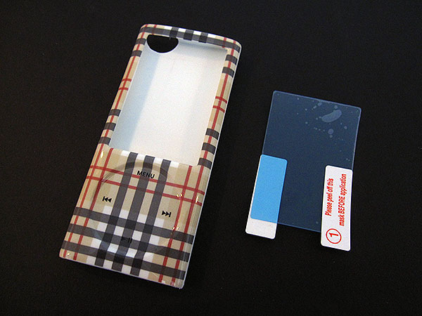 First Look: Aquarius iJacket for iPod nano 5G, iPod classic + iPhone 3G/3GS