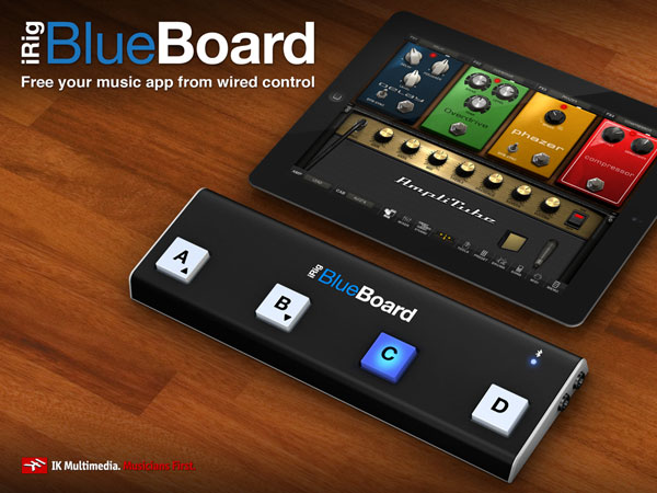 Review: IK Multimedia iRig BlueBoard Bluetooth MIDI Pedalboard