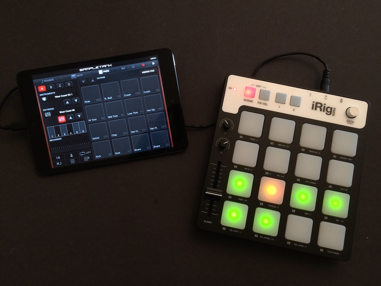 Review: IK Multimedia iRig Pads MIDI Groove Controller 1
