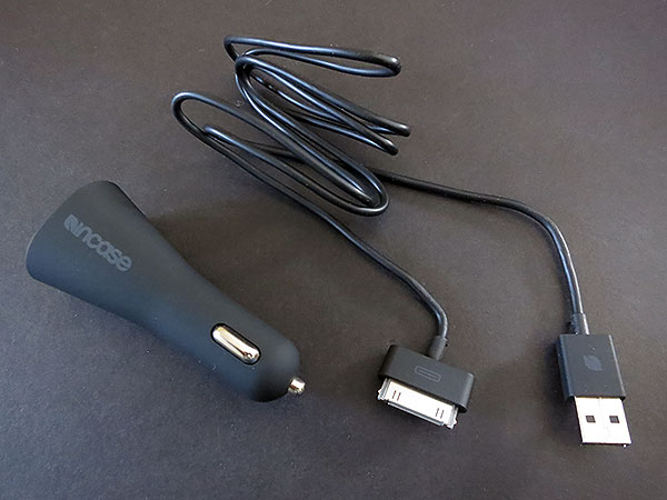 Review: Incase Dual Car Charger for iPod, iPhone + iPad
