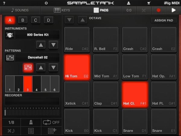 Review: IK Multimedia iRig MIDI + SampleTank for iOS 11