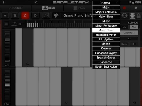 Review: IK Multimedia iRig MIDI + SampleTank for iOS 12