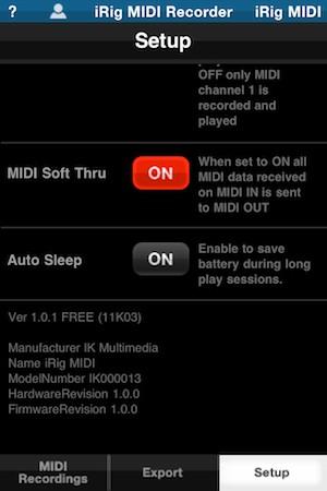Review: IK Multimedia iRig MIDI + SampleTank for iOS 6