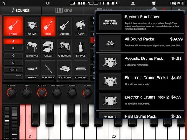Review: IK Multimedia iRig MIDI + SampleTank for iOS 9