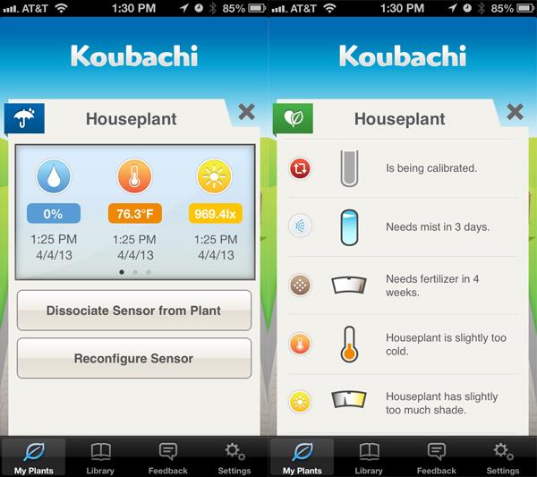 Logo koubachi - Monitor your indoor plants with the koubashi wi fi sensor ...