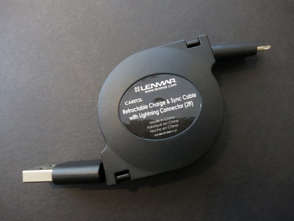 Review: Lenmar Retractable Charge & Sync Cable with Lightning Connector