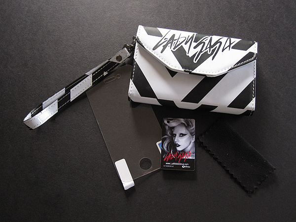First Look: LuxMobile Lady Gaga Mobile Collection for iPhone 4