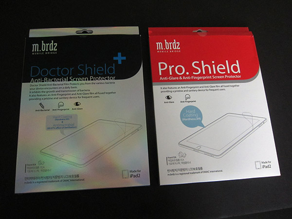First Look: M.brdz Doctor Shield+ and Pro.Shield for iPad 2