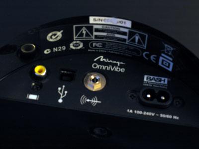 Review: Mirage OmniVibe 360 Degree Omnipolar iPod Dock