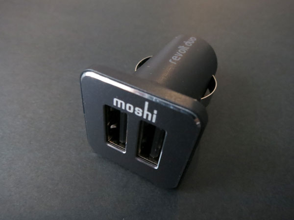Review: Moshi Revolt Duo 20W Dual-Port USB Car Charger