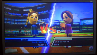 Weekend of Wii, Part II: Interface and Games