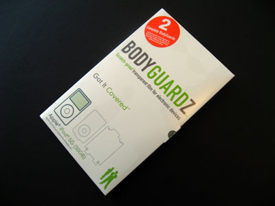 Review: NLU Products BodyGuardz Scratch Proof Transparent Film for iPod 5G