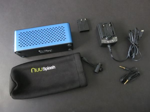Review: Nuu Splash Portable Waterproof Bluetooth Wireless Speaker