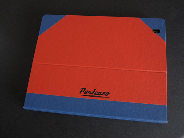 Review: Portenzo WingTip BookCase for iPad 2
