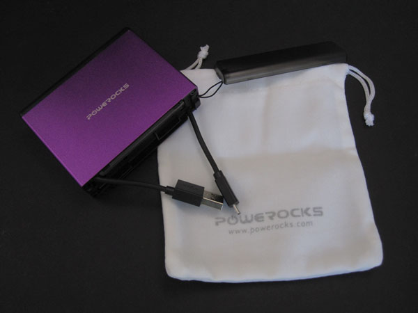 Review: Powerocks Magic Cube, Magicstick, Rose Stone + Tarot Battery Packs