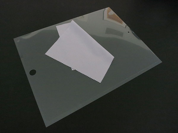 First Look: Power Support AFP Crystal Film + Antiglare Film for iPad (3rd-Gen)